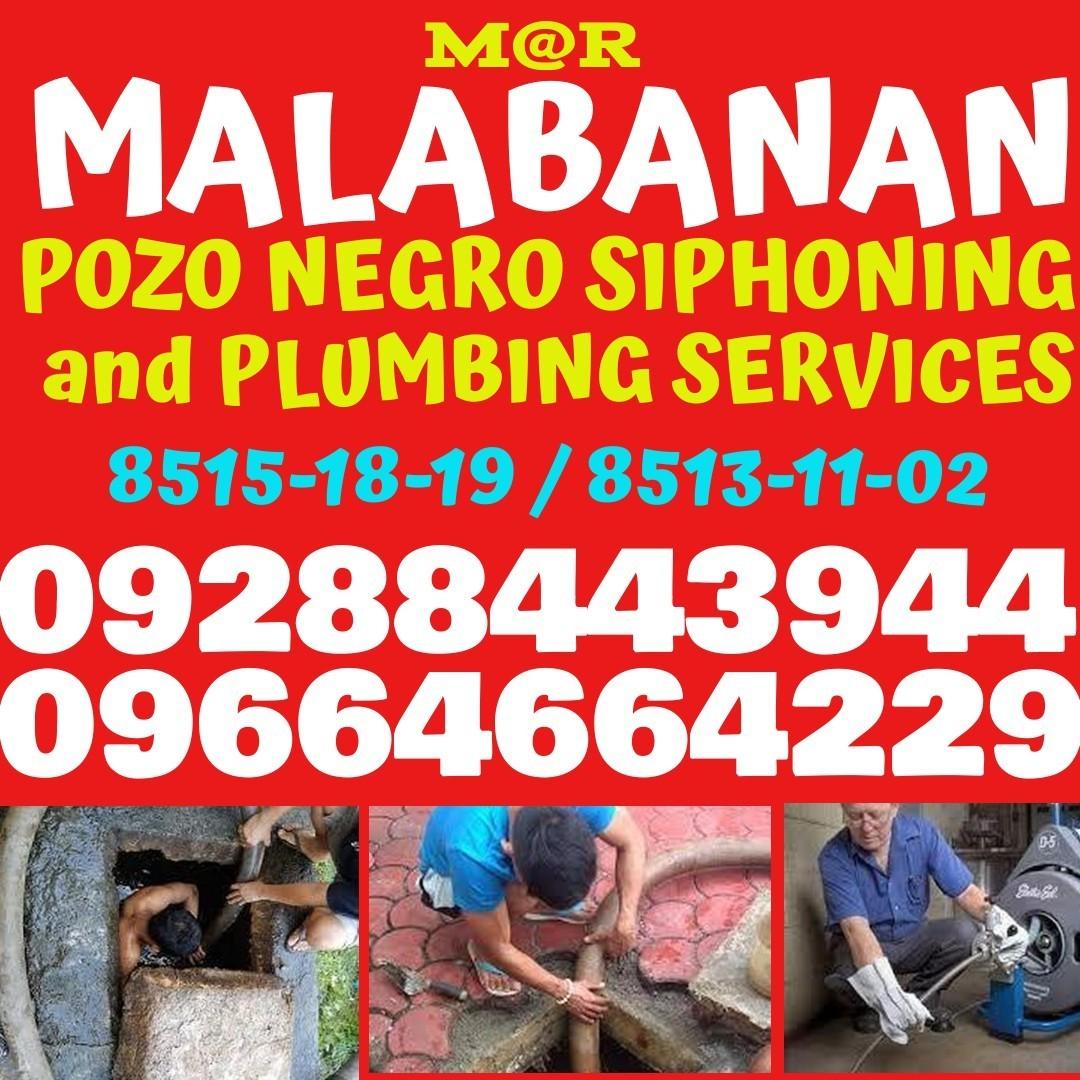 MR MALABANAN POZO NEGRO EXCAVATION PLUMBING SERVICES